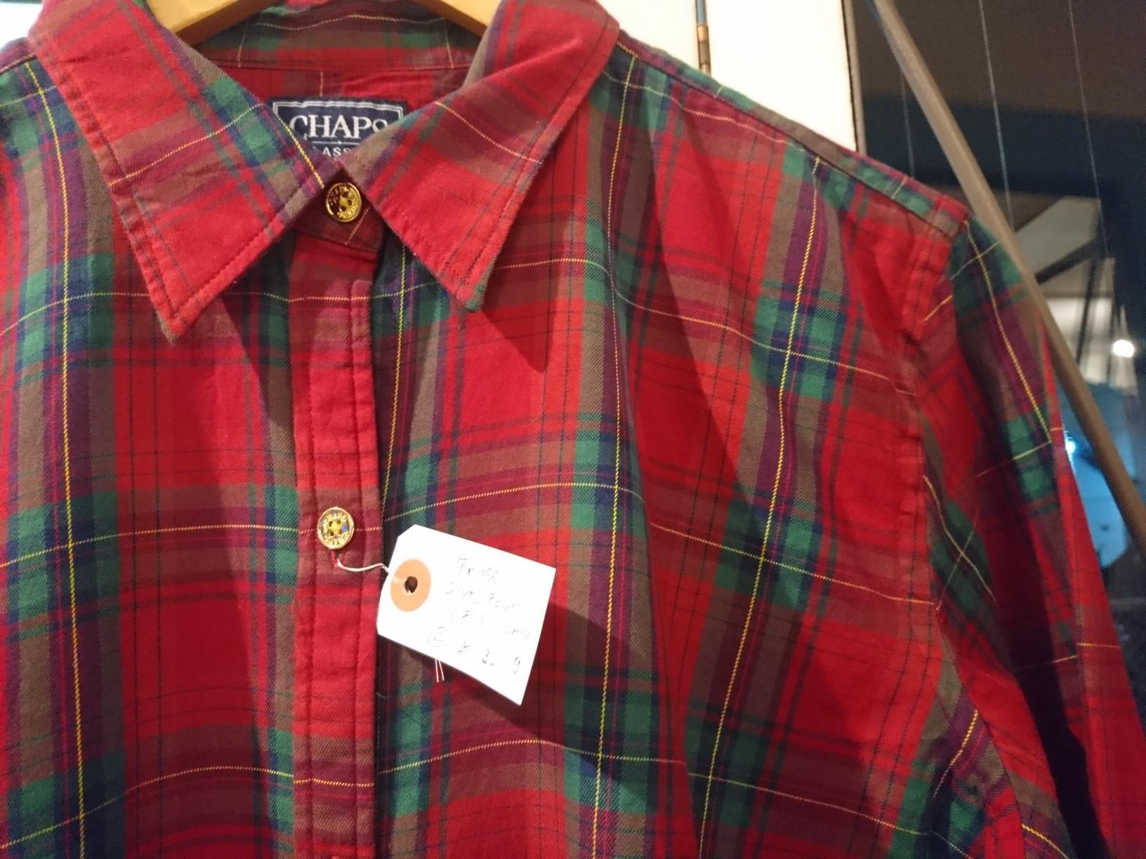 チャプス チェックシャツ_d0256914_21353684.jpg
