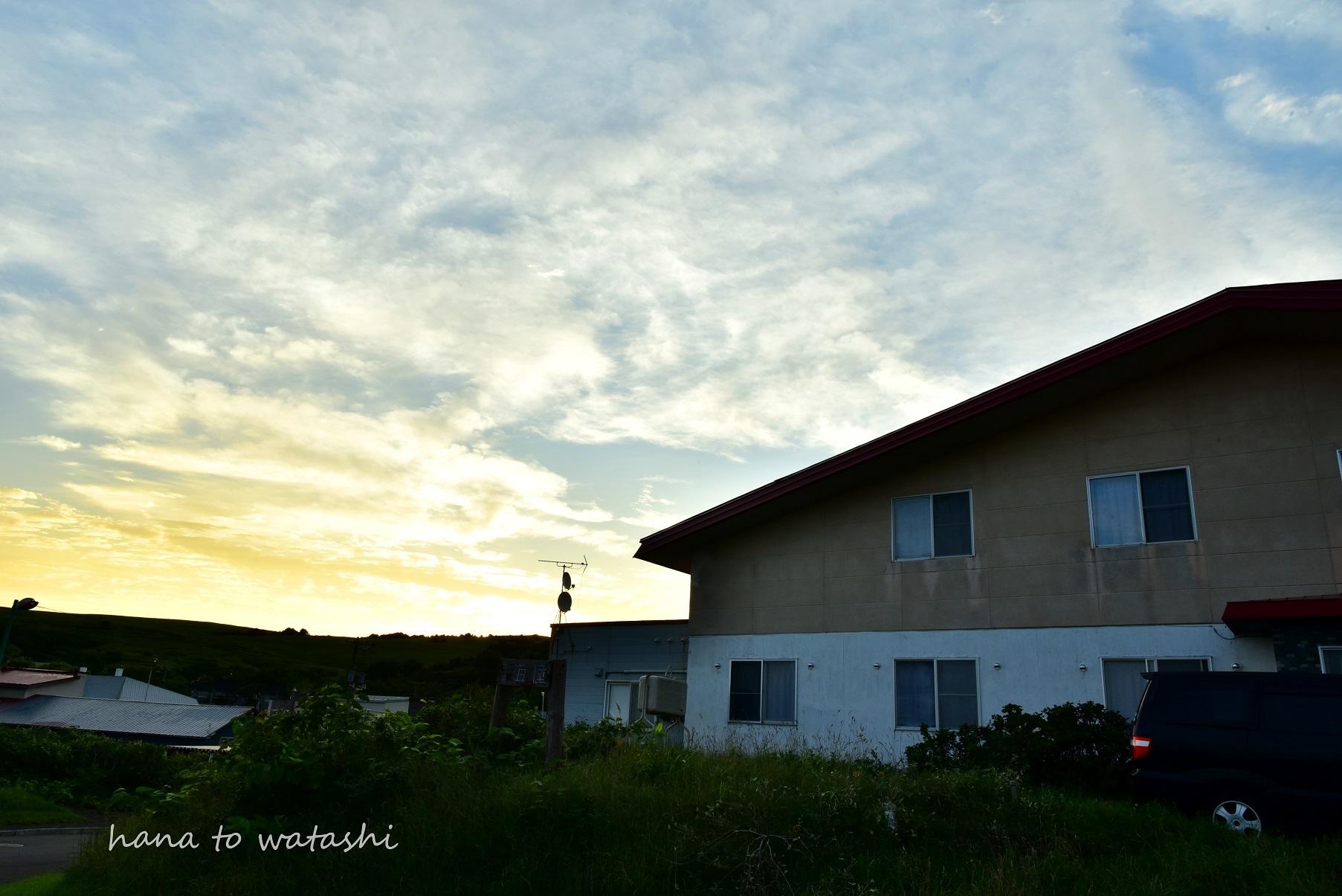 お盆に見た朝日_e0120026_21420907.jpg