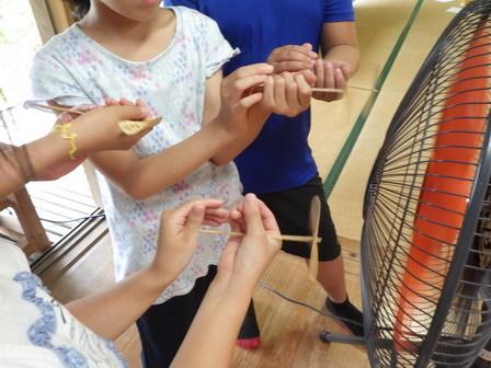 昆虫採集と竹とんぼ_a0123836_15154512.jpg