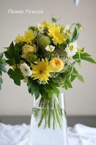 * パリスタイル Bouquet Rond*_e0159050_17534007.jpg