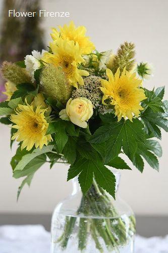 * パリスタイル Bouquet Rond*_e0159050_17535345.jpg