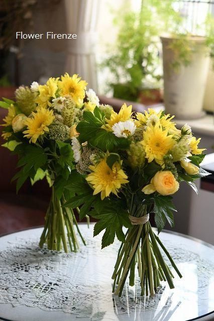 * パリスタイル Bouquet Rond*_e0159050_17541170.jpg