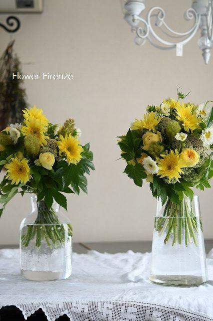* パリスタイル Bouquet Rond*_e0159050_17554166.jpg
