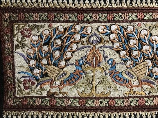 貴久樹さん孔雀の紬八寸帯+石下の結城紬。_f0181251_18570588.jpg