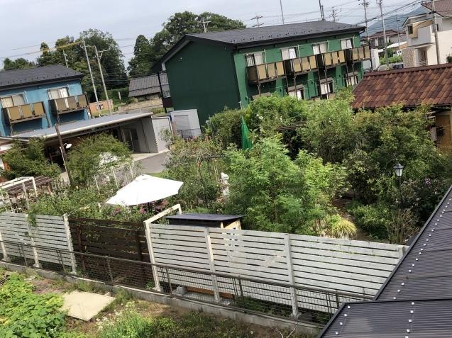 2階から見た庭の様子_a0243064_19041669.jpg