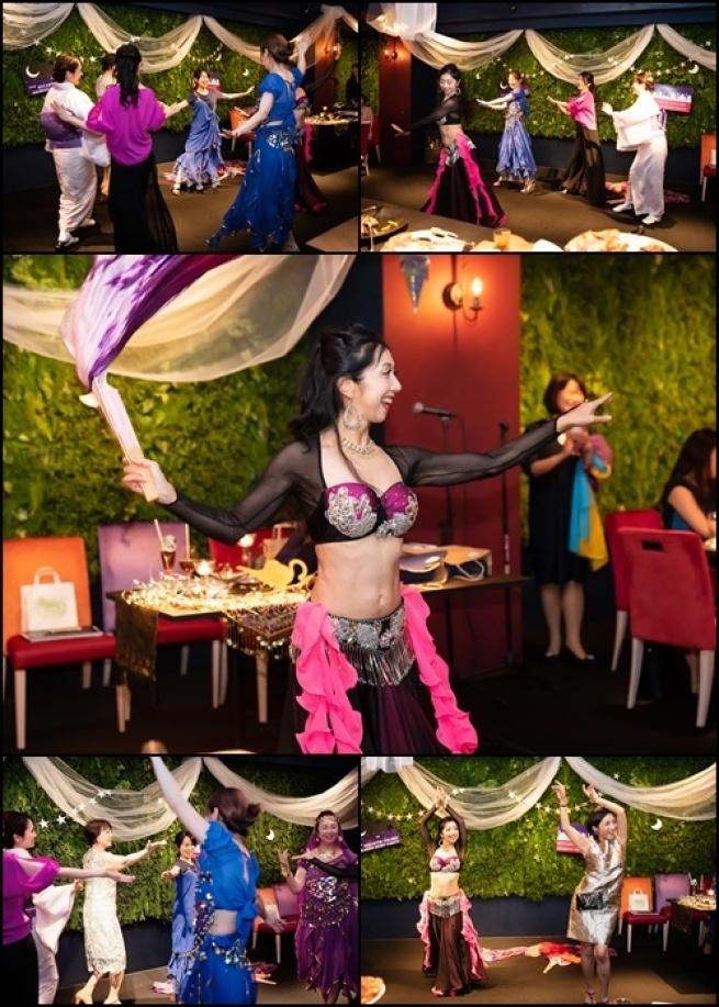 サプライズはベリーダンス@mycantik colors Arabian Nights Party★_b0114367_09354778.jpg