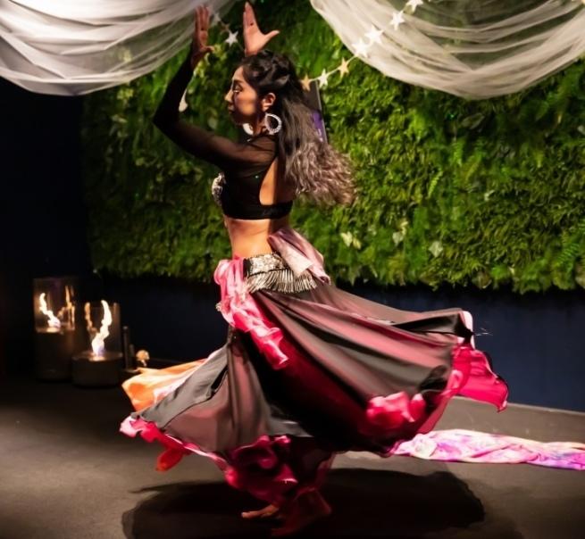 サプライズはベリーダンス@mycantik colors Arabian Nights Party★_b0114367_09482902.jpg