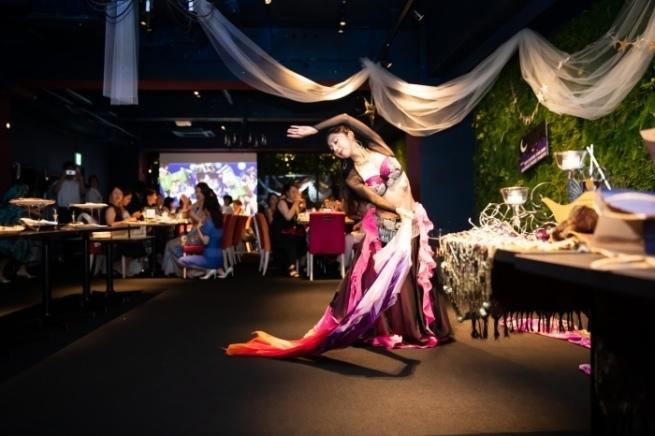 サプライズはベリーダンス@mycantik colors Arabian Nights Party★_b0114367_09484311.jpg