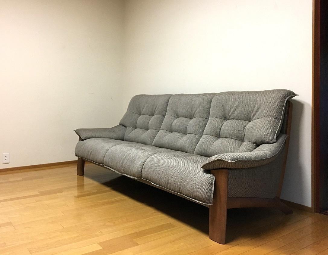 カリモク家具 ソファZU49モデル 納品実例_d0224984_17095039.jpg