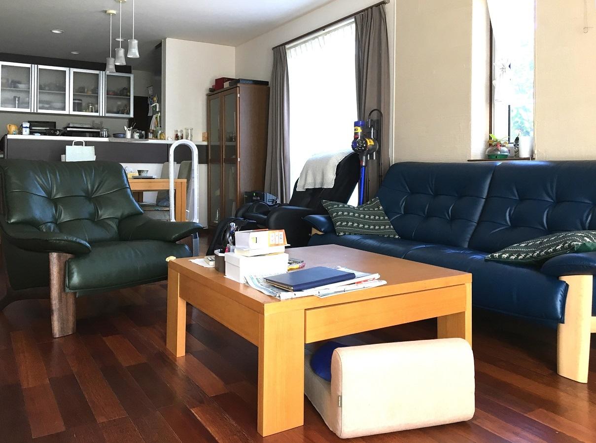 カリモク家具 ソファZU49モデル 納品実例_d0224984_17100108.jpg