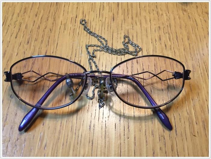 3年ぶりくらいに眼鏡を新調しました、もちろん遠近両用。。。もう眼鏡のない暮らしは考えられません(´A`。)グスン_b0175688_19573066.jpg