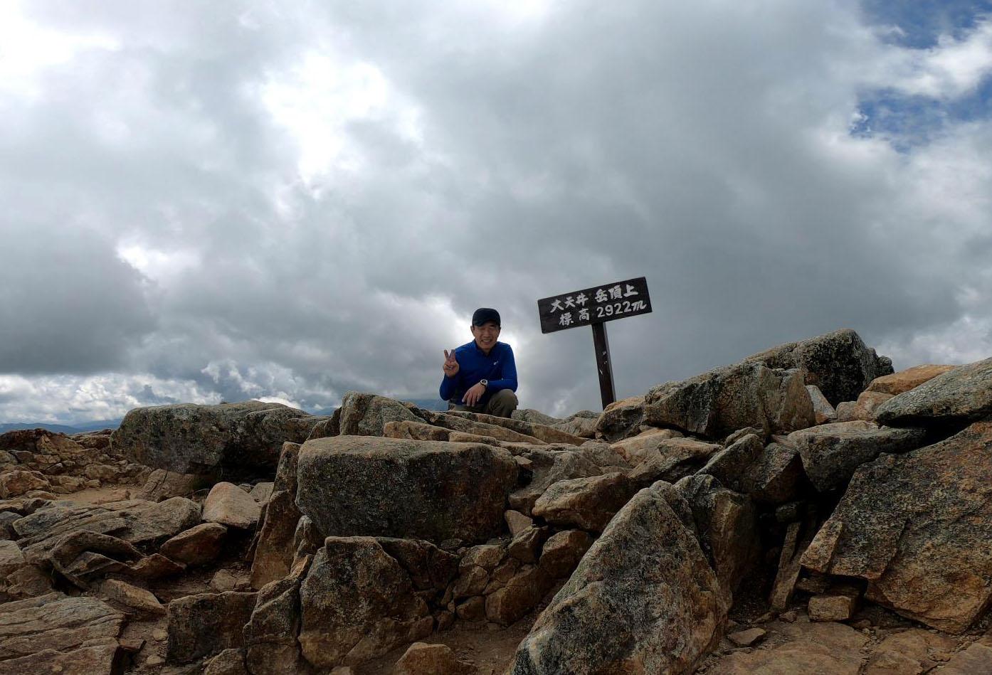 大天井岳登山一日目_a0026295_19421552.jpg