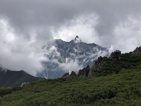大天井岳登山一日目_a0026295_19422514.jpg