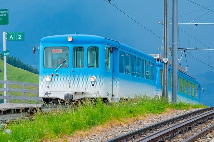 ルツェルンから登山電車に乗ってリギ山へ_b0145398_22421217.jpg