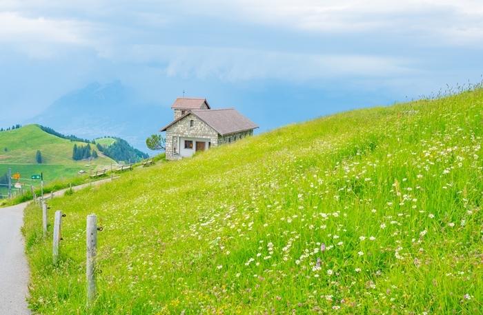 ルツェルンから登山電車に乗ってリギ山へ_b0145398_23073457.jpg