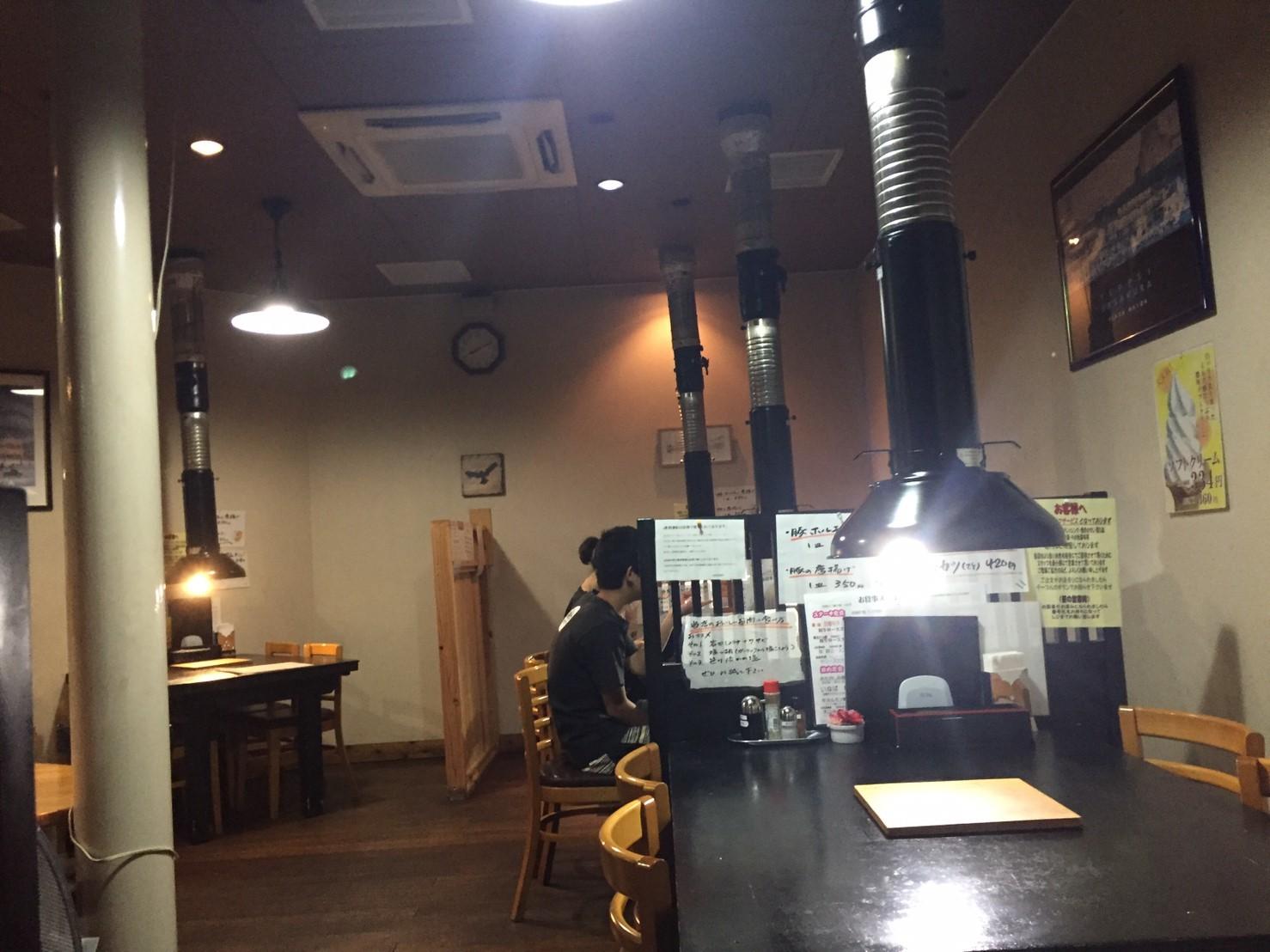 焼肉 鳥取牧場村 厚切りタン・山葵塩_e0115904_07453378.jpg