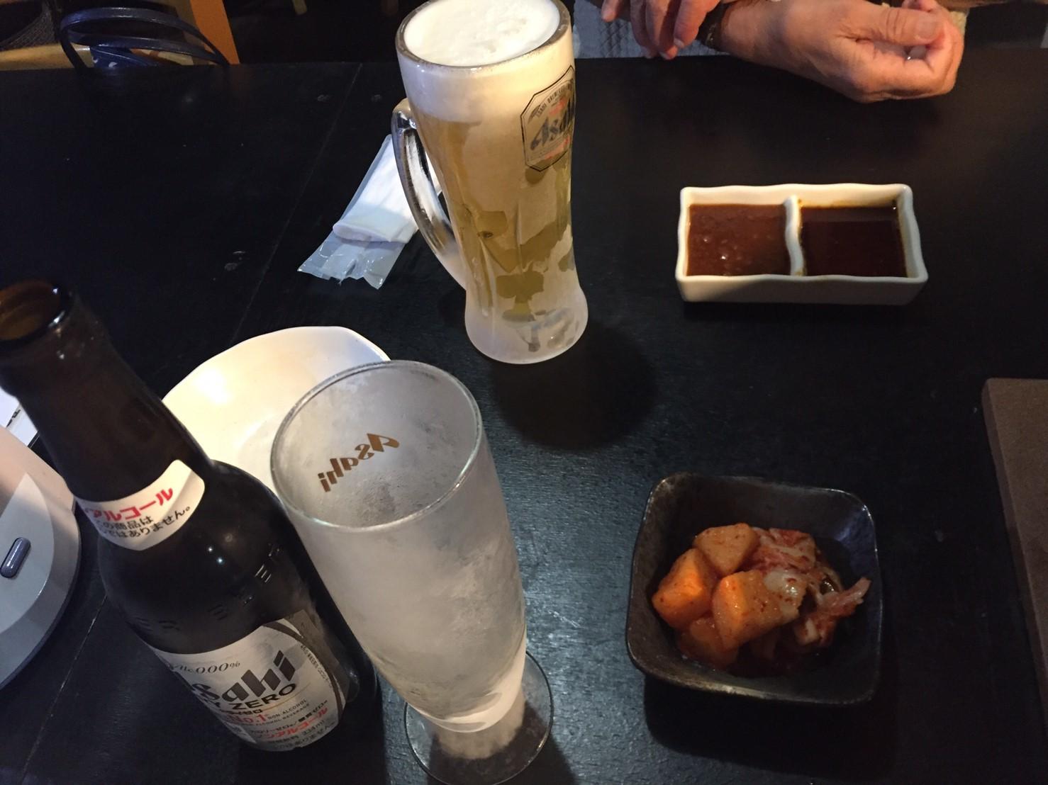 焼肉 鳥取牧場村 厚切りタン・山葵塩_e0115904_07490399.jpg