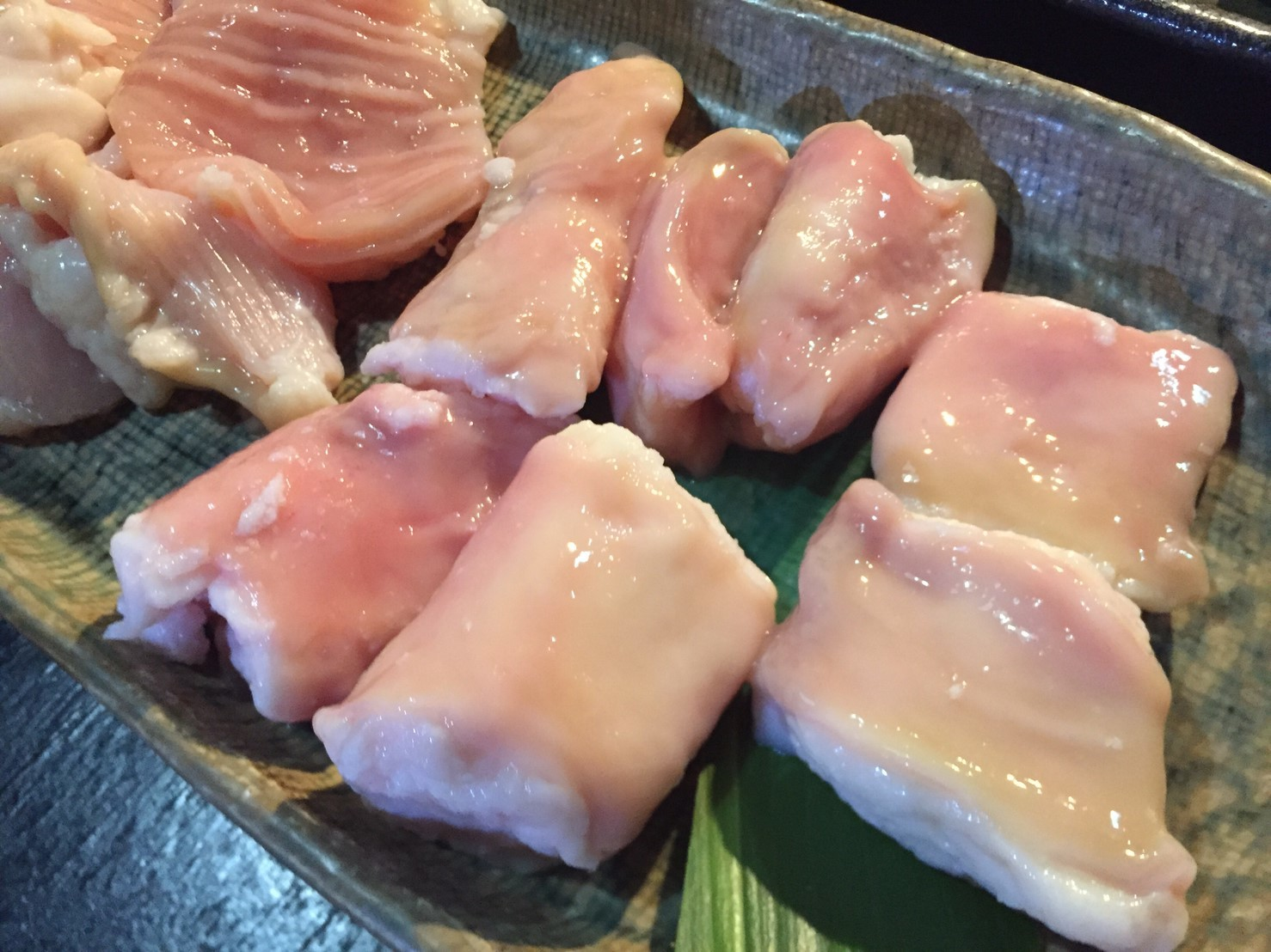 焼肉 鳥取牧場村 厚切りタン・山葵塩_e0115904_08053733.jpg
