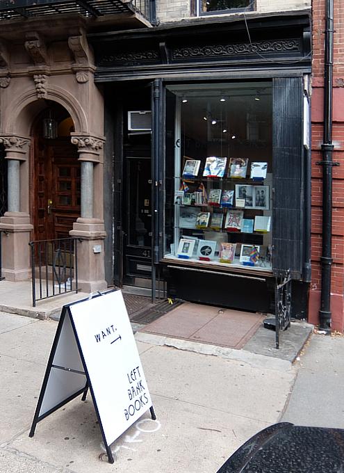 NYグリニッジ・ビレッジで復活した老舗書店、レフト・バンク・ブックス(Left Bank Books)_b0007805_06370704.jpg