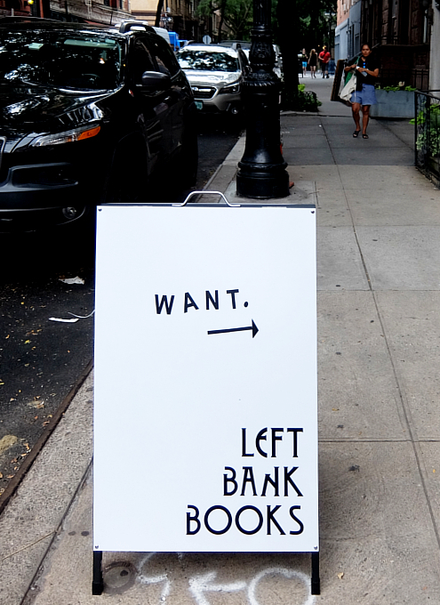 NYグリニッジ・ビレッジで復活した老舗書店、レフト・バンク・ブックス(Left Bank Books)_b0007805_06372799.jpg