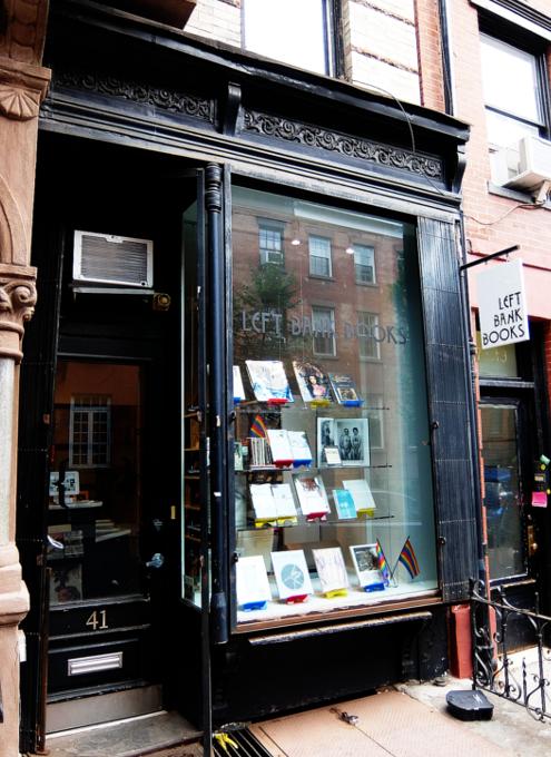 NYグリニッジ・ビレッジで復活した老舗書店、レフト・バンク・ブックス(Left Bank Books)_b0007805_07474517.jpg