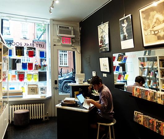 NYグリニッジ・ビレッジで復活した老舗書店、レフト・バンク・ブックス(Left Bank Books)_b0007805_07493796.jpg