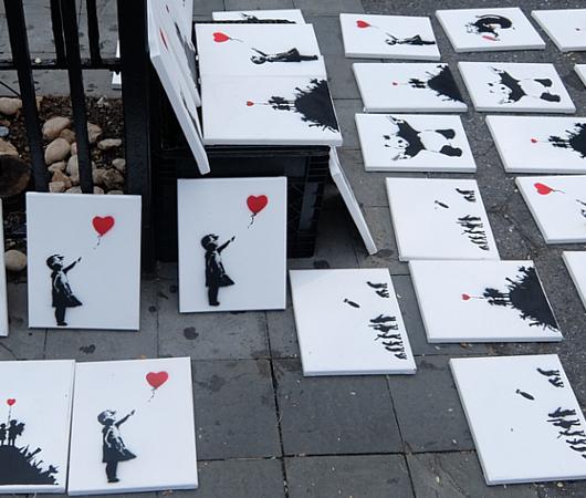 ユニオン・スクエアでBanksyさんのアート作品が40ドル⁉_b0007805_09415206.jpg