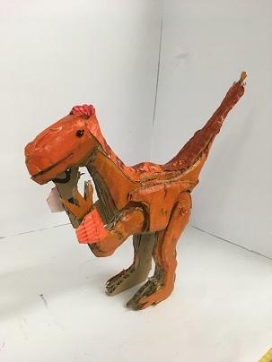 [2019年]夏休みワークショップ③ 8/23恐竜 作品展 _a0269923_13335250.jpg