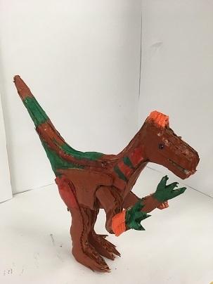 [2019年]夏休みワークショップ③ 8/23恐竜 作品展 _a0269923_13345115.jpg