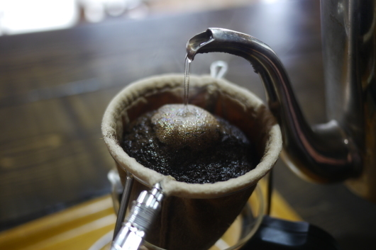 **  一足早い 秋味のコーヒー(処暑) **_b0136223_18380884.jpg