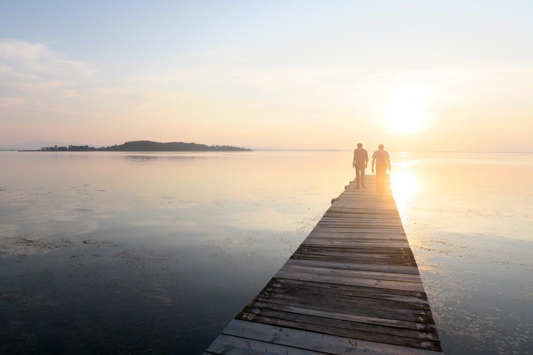 水鏡・夕景きれい トラジメーノ湖_f0234936_22264543.jpg