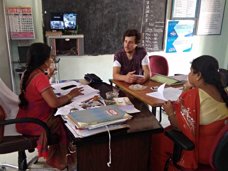インドでボランティア:Climate Activist Teamの様子_a0383739_19443939.jpg