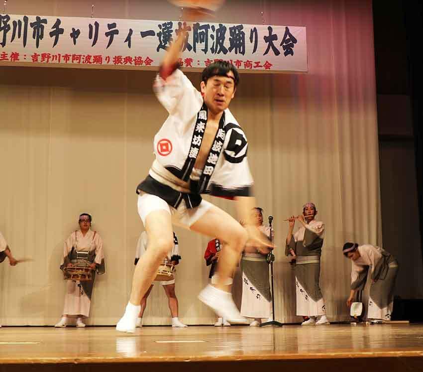 2019年吉野川市チャリティー選抜阿波踊り-04♪風来坊連-2♪_d0058941_20153965.jpg