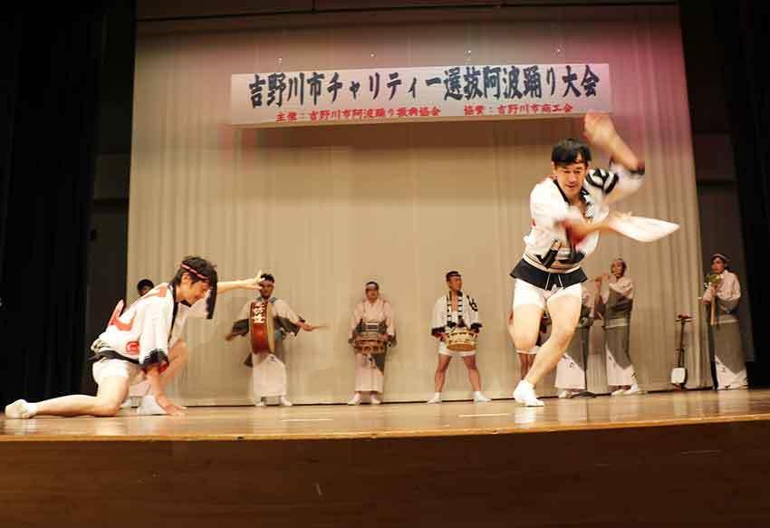 2019年吉野川市チャリティー選抜阿波踊り-04♪風来坊連-2♪_d0058941_20165696.jpg
