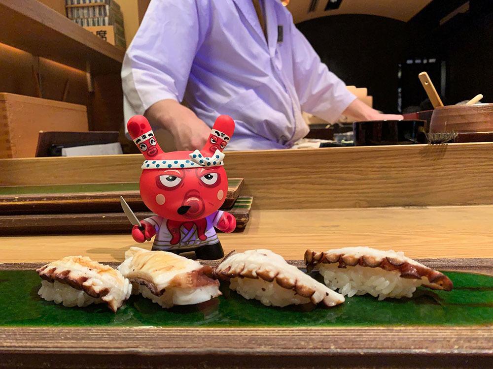 お約束どおり、タコ連れて寿司食べてきました_a0077842_22173090.jpg