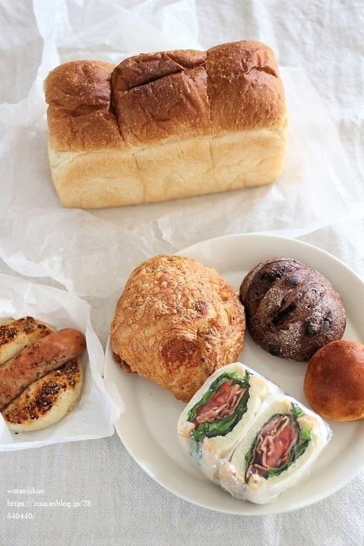 ハチカフェと美味しいパン_e0214646_20434840.jpg