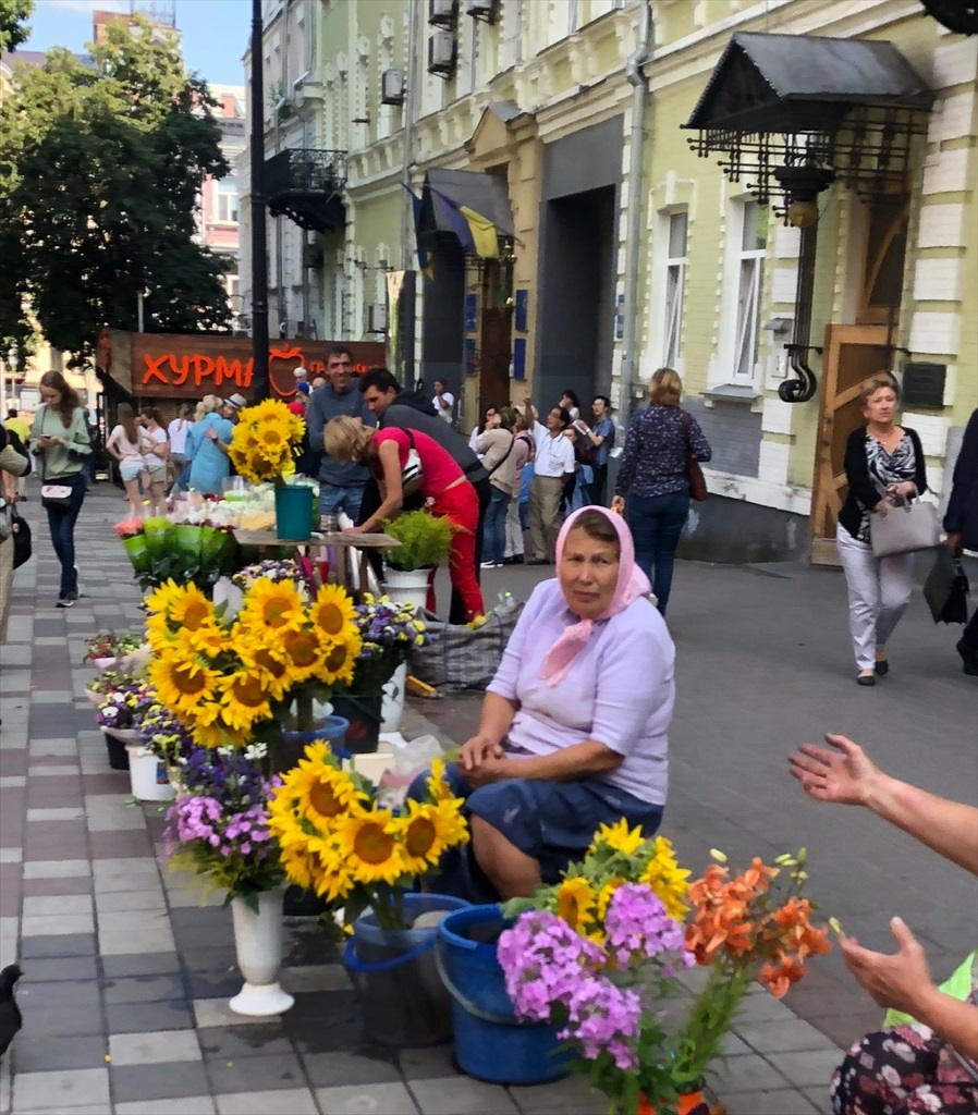 """キエフの正面玄関""""黄金の門""""@ウクライナ_a0092659_15532959.jpg"""