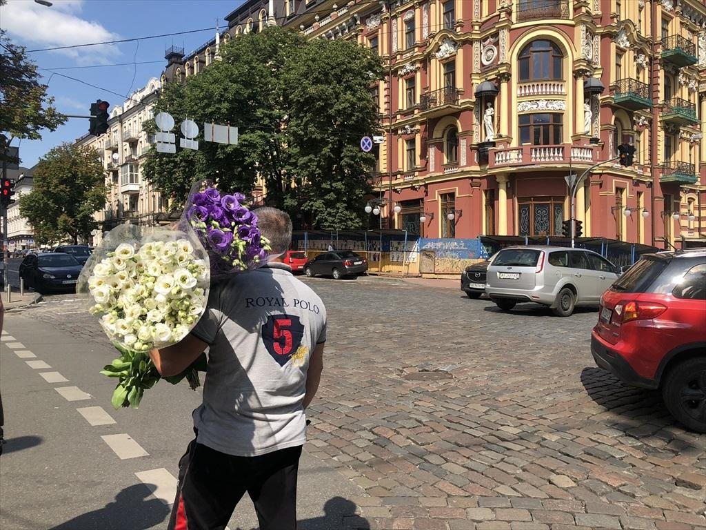 """キエフの正面玄関""""黄金の門""""@ウクライナ_a0092659_15535176.jpg"""