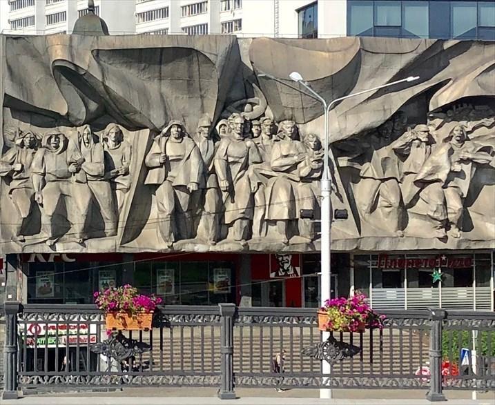 """キエフの正面玄関""""黄金の門""""@ウクライナ_a0092659_16055565.jpg"""