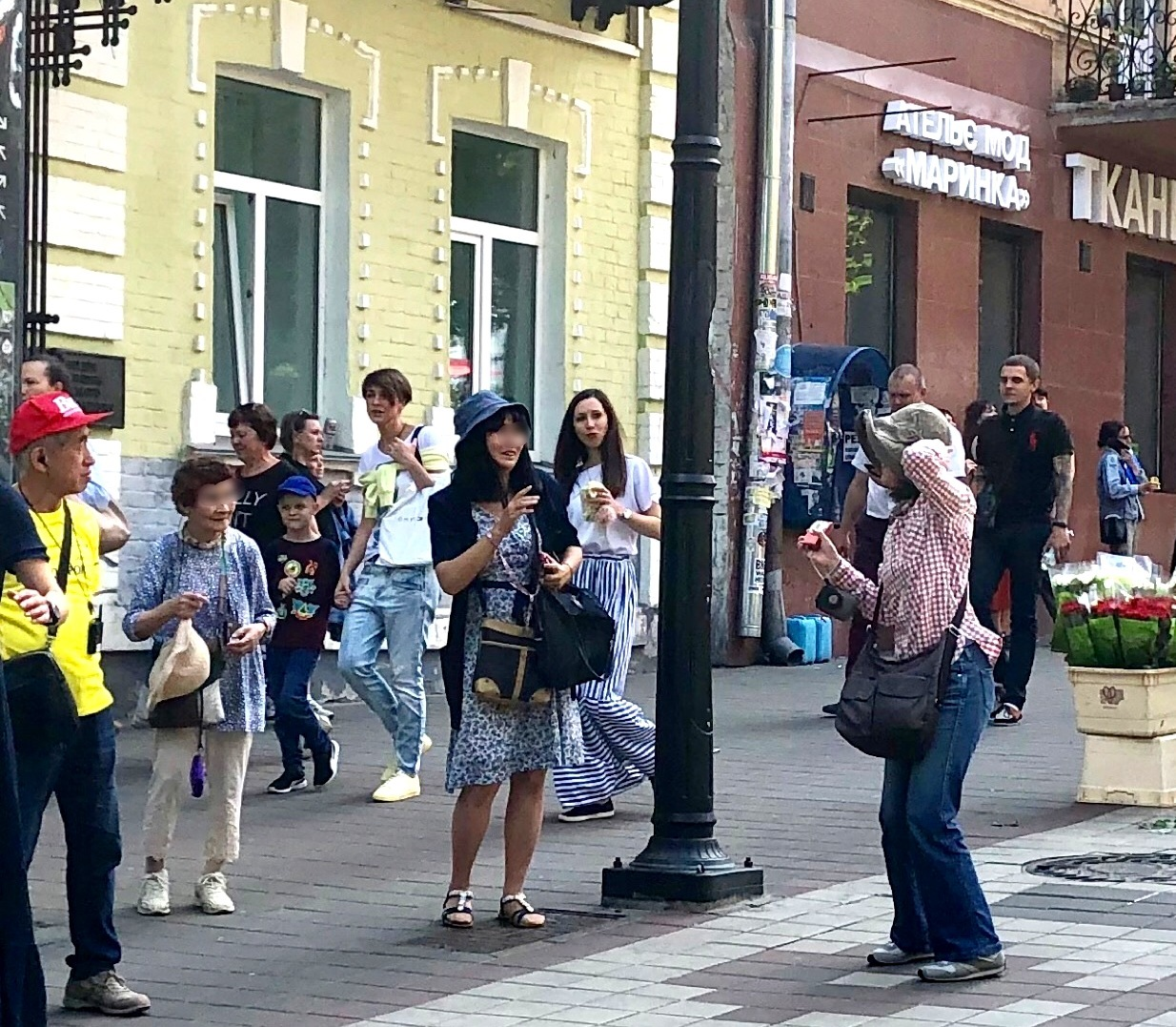 """キエフの正面玄関""""黄金の門""""@ウクライナ_a0092659_16280250.jpg"""