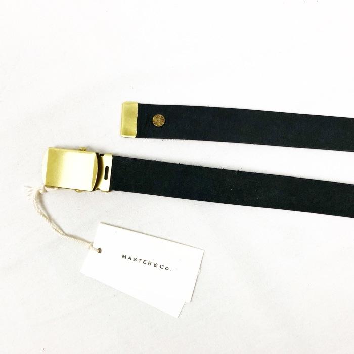 "MASTER&CO. \""Leather GACHA Belt\""_b0121563_14144512.jpg"