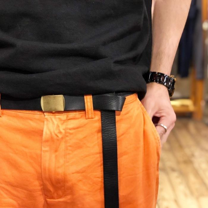 "MASTER&CO. \""Leather GACHA Belt\""_b0121563_14145931.jpg"