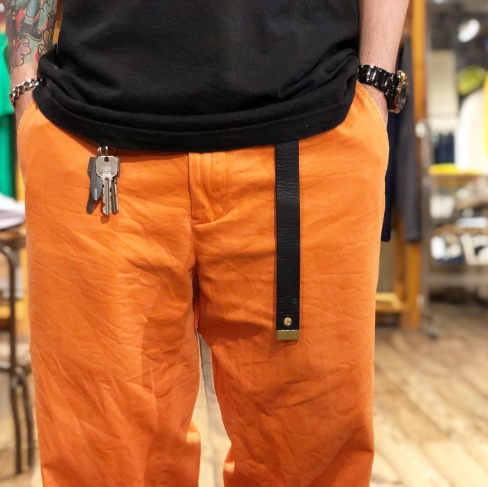 "MASTER&CO. \""Leather GACHA Belt\""_b0121563_14150745.jpg"