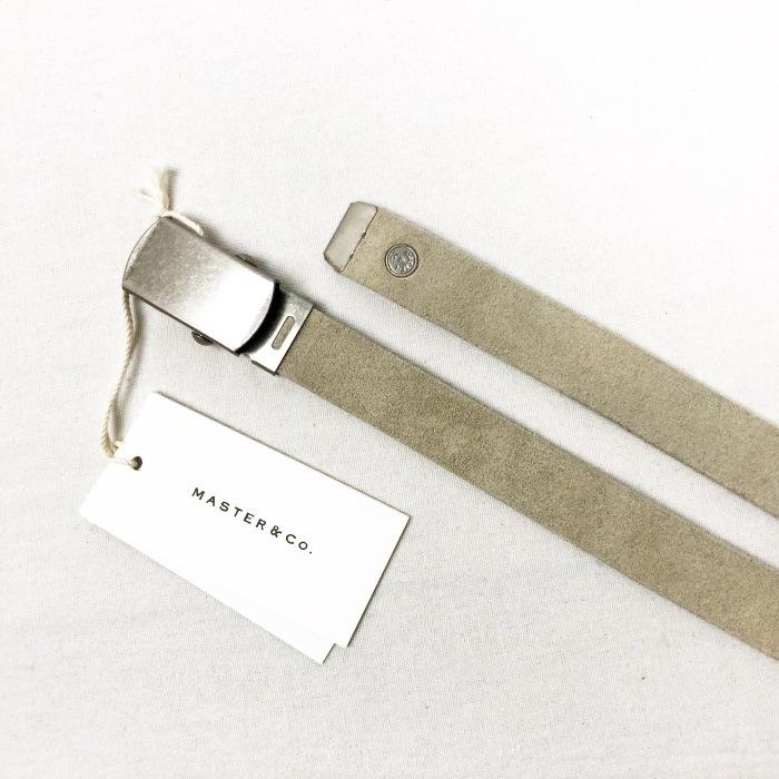 "MASTER&CO. \""Leather GACHA Belt\""_b0121563_14150796.jpg"