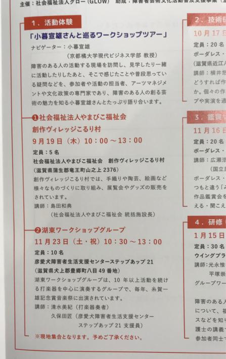 活動体験「小暮宣雄さんとめぐるワーショップツアー」の打ち合わせなど_a0034066_09224142.jpg
