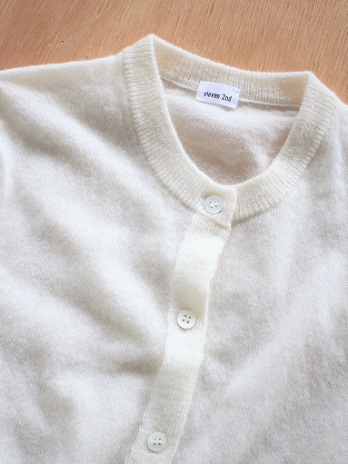 eleven 2nd Cashmere / Mohair-Front Cardigan_b0139281_1765513.jpg