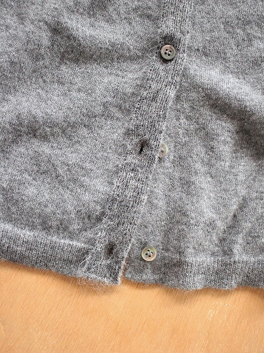 eleven 2nd Cashmere / Mohair-Front Cardigan_b0139281_177619.jpg