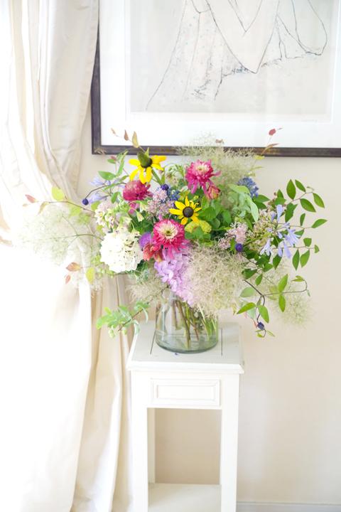 6月のレッスン 初夏の草花を使った投げ入れ_f0127281_11395637.jpg
