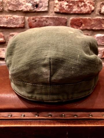"1960s \"" U.S ARMY \"" 100% cotton SATEEN OG-107 VINTAGE UTILITY CAP - SNOOPY ピンズ付 - ._d0172088_17293591.jpg"