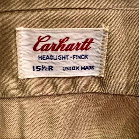"1960s \"" U.S ARMY \"" 100% cotton SATEEN OG-107 VINTAGE UTILITY CAP - SNOOPY ピンズ付 - ._d0172088_19420660.jpg"